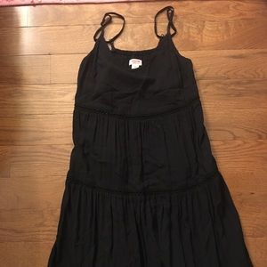 Black Babydoll style dress with spaghetti straps